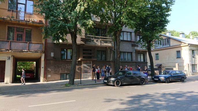 Buvęs Putvinskio 14c pastatas šiandien - Putvinskio g. 32.