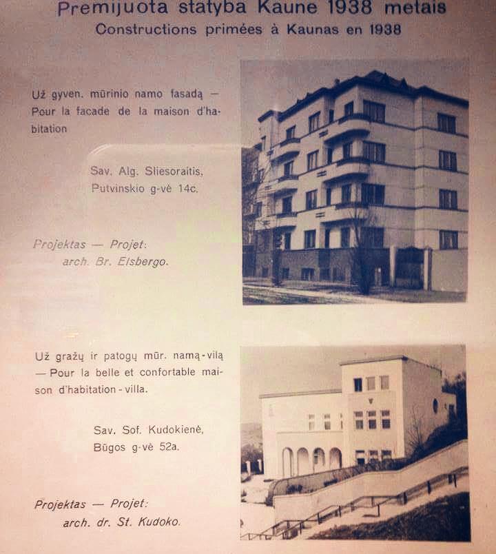 """Gražiausius architektūros kūrinius tada vadino """"Premijuota statyba""""."""