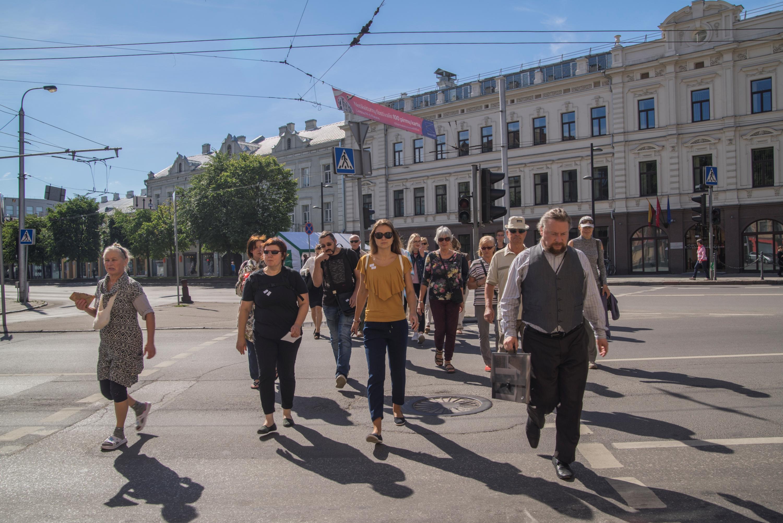 """Pasak gido, vienas maloniausių komplimentų - """"nežinojau, kad Kaune tokia gatvė ar tokie laiptai yra"""""""
