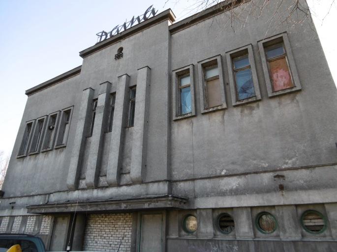 Negavus leidimo steigti dar vieną kazino, pastatas Žaliakalnyje tiesiog apleistas (M. Oniščik nuotr.)