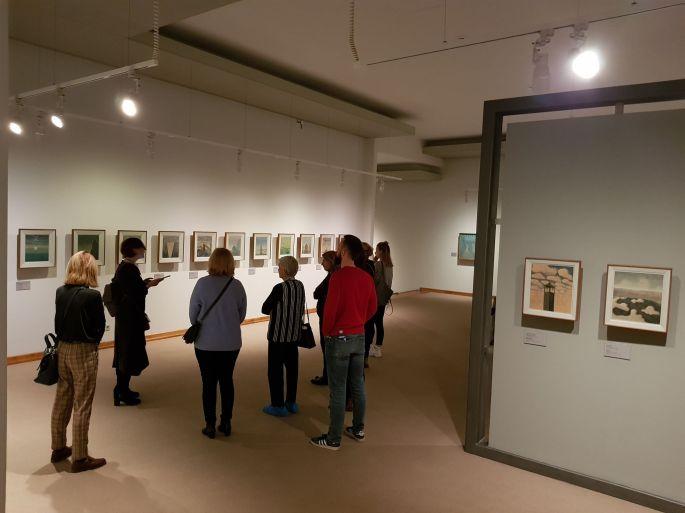 Kelionė per M.K. Čiurlionio paveikslus ieškant žmogiškojo kelio ženklų